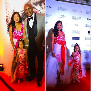 soleil with Holyfield, Red Carpet